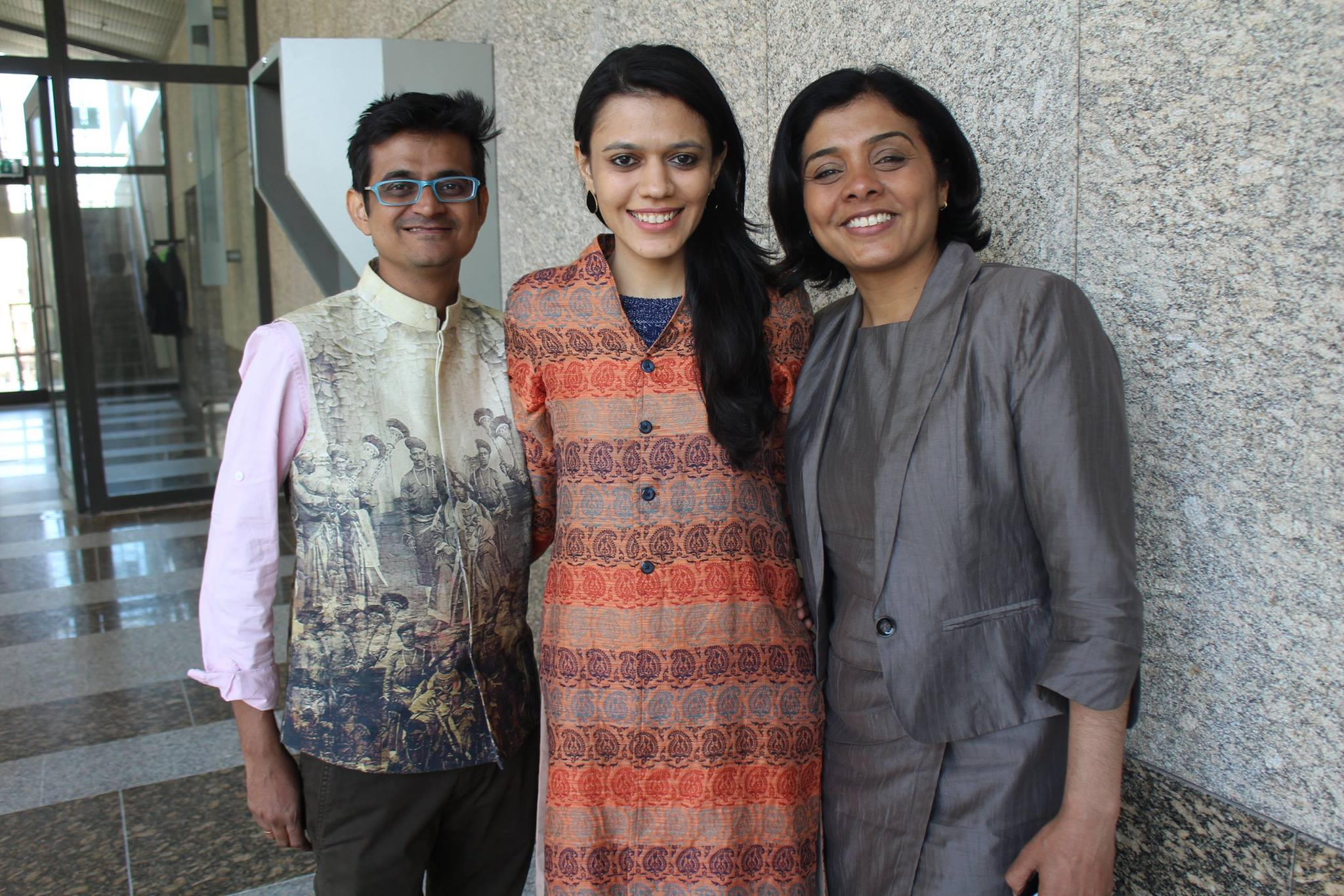 Nirali, Kartik and politica Tanja Jadnanansing