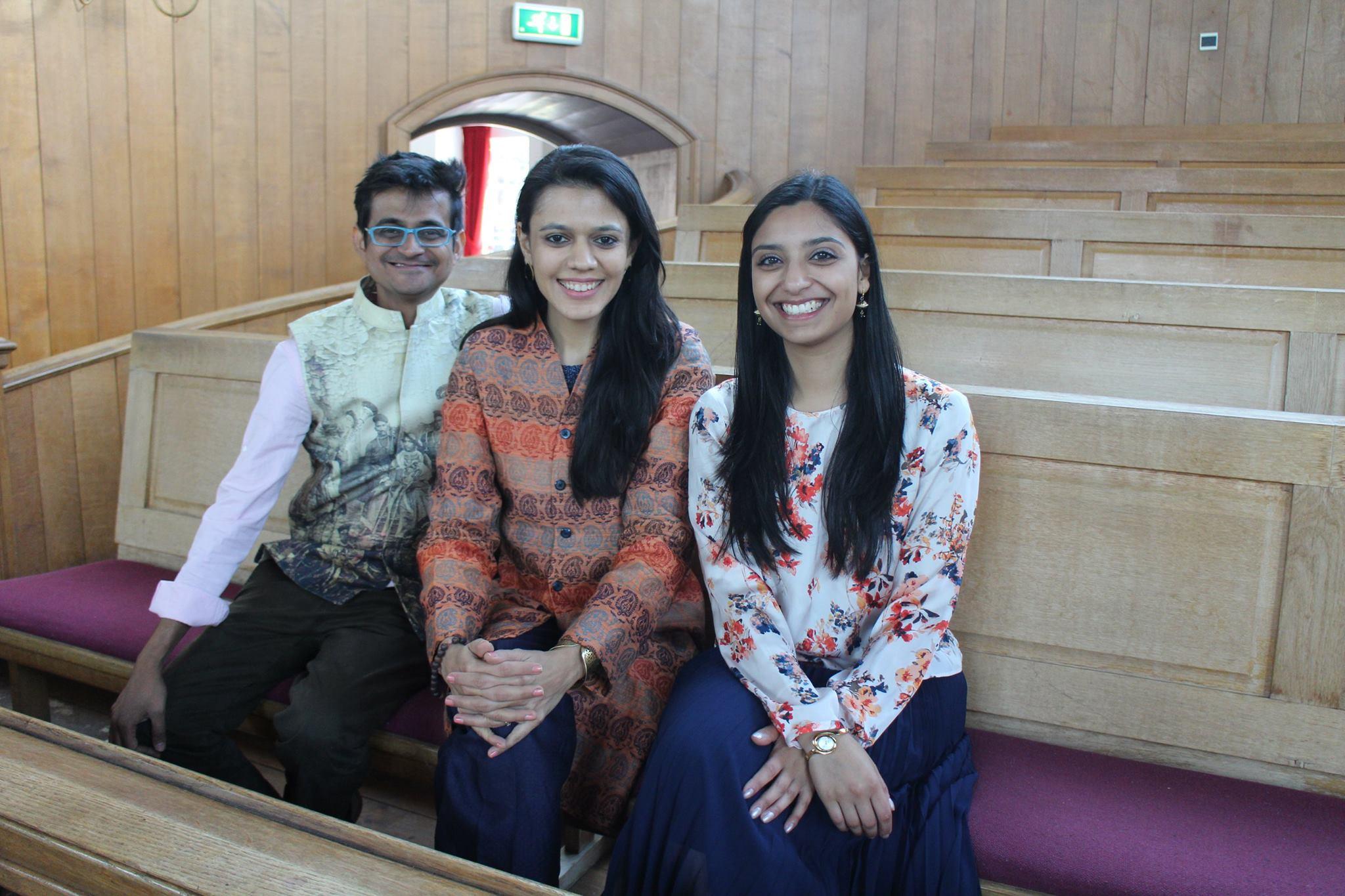 Nirali Kartik Mahesvari in De Nieuwe Kerk